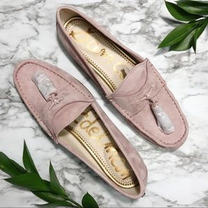 Sam Edelman Pink Mauve Suede Therese Tassel Loafer